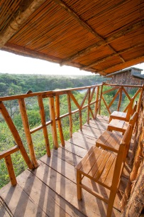 Awash Lodge Balcony