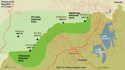SafariCamps_com Volcanoes National Park Map B